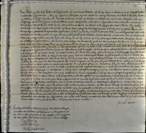 An image of NRO, Norwich Archdeaconry Court Will 1755 no. 47