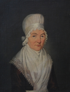 An image of Mary Hardy dated 1798 when she was 64, by Immanuel.