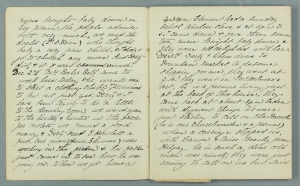 An image of NRO, 641/1. A page of Catherine's diary.