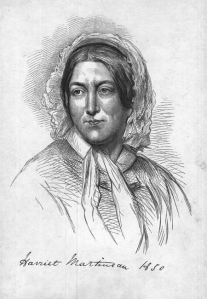 An image of Harriet Martineau 1850