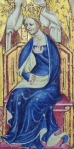 An image of The Liber Regalis, Anne of Bohemia