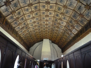 An image of Eagle Ward ceiling, St Helen's church, Norwich.